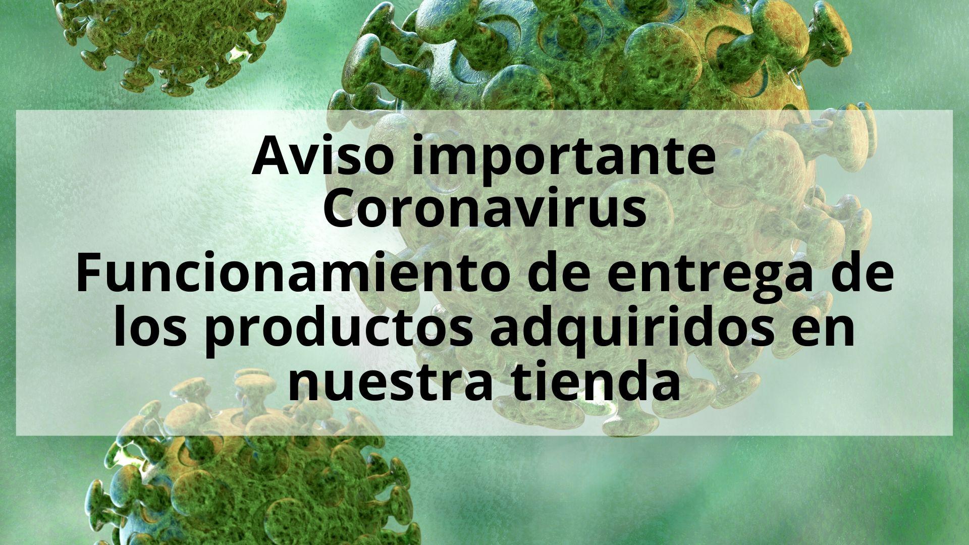 Información sobre el transporte. Coronavirus